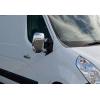 Накладки на зеркала (Abs-хром.) для Nissan NV400 2010+ (Omsa Prime, 6123111)
