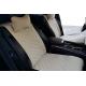 Накидки на сиденья автомобиля (передние, к-кт. 2 шт.) (AVTOРИТЕТ, beige)