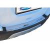 Накладка на задний бампер (нерж., Матовая) для Chevrolet Trax 2012+ (Omsa Prime, 5217093T)