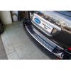 Накладка на задний бампер (нерж., Матовая) для Mercedes-Benz ML-Class (W164) 2005-2011 (Omsa Prime, 4710093T)