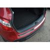 Накладка на задний бампер (нерж., Матовая) для Nissan Qashqai+2 2010-2014 (Omsa Prime, 5021094T)