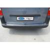 Накладка на задний бампер (нерж., Матовая) для Peugeot Partner Tepee 2008+ (Omsa Prime, 5723093T)