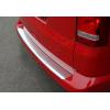 Накладка на задний бампер (нерж., Матовая) для Volkswagen Multivan (T5) 2003-2014 (Omsa Prime, 7522095T)