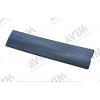 Накладка на решетку бампера (для зимы, низ., глянцевая) для Skoda Rapid 2012+ (AVTM, FLGL0154)