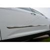 Молдинг дверной (нерж., 4-шт.) для Dacia Duster 2010+ (Omsa Prime, 9696131)