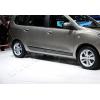 Молдинг дверной (нерж., 4-шт.) для Dacia Lodgy 2013+ (Omsa Prime, 2006131)