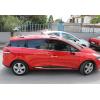 Молдинг дверной (нерж., 4-шт., без формы) для Renault Clio IV (5D) HB/SW 2012+ (Omsa Prime, 6116131)
