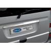 Накладка крышки багажника (над номером, нерж.) для Mercedes-Benz Viano (W639) 2004-2014 (Omsa Prime, 4721052)