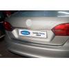 Накладка крышки багажника (над номером, нерж.) для Volkswagen Jetta VI SD 2011-2014 (Omsa Prime, 7540053)