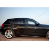 Нижние молдинги стекол (нерж., 4 шт.) для BMW 1-series (F20) 5D HB 2011+ (Omsa Prime, 1213141)