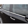 Нижние молдинги стекол (нерж., 4 шт.) для Peugeot 208 (5D) HB 2012+ (Omsa Prime, 5714141)
