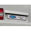 Накладка крышки багажника (над номером, распашонка) для Volkswagen Multivan (T5) 2003-2014 (Omsa Prime, 7522057)