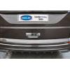 Накладка на ручку двери багажника (нерж., 1 шт.) для VW Transporter (T6) 2015+ (Omsa Prime, 7550051)