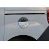 Накладка на лючок бензобака (нерж.) для Fiat Doblo II 2010+ (Omsa Prime, 2524071)