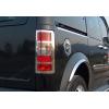 Накладка на лючок бензобака (нерж.) для Ford Connect 2002-2014 (Omsa Prime, 2620071)