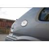 Накладка на лючок бензобака (нерж.) для Peugeot 106 (3D) HB 1992-2002 (Omsa Prime, 5701071)