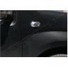 Окантовка на повторители поворота (нерж., 2 шт.) для Fiat Fiorino 2007+ (Omsa Prime, 9503151)