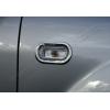 Окантовка на повторители поворота (нерж., 2 шт.) для Seat Leon II (5D/3D) HB 2005-2012 (Omsa Prime, 9500151)