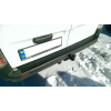 Накладка на задний бампер для Renault Trafic/Opel Vivaro 2001-2015 (AVTM, RENTR0115NZB)