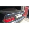 Спойлер крышки багажника (Сабля) для Mercedes-Benz E-Class (W210) 1995-2002 (AVTM, MERBE210LIP)