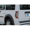 Окантовка на стопы (ABS-пластик., 2 шт.) для Ford Connect 2009-2014 (Omsa Prime, 2622101)