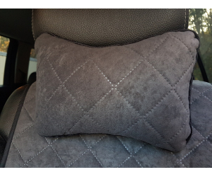 Автоподушка (графит, 1 шт.) (AVTOРИТЕТ, pillow-headrest-graphite)