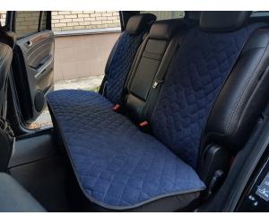 Накидки на сиденья автомобиля (задние, к-кт. 3 шт.) (AVTOРИТЕТ, DURKBLUE)