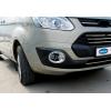 Окантовка на противотуманные фары (Abs-хром., 2 шт.) для Ford Custom 2012+ (Omsa Prime, 2624103)