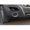 Окантовка на противотуманные фары (нерж., 2 шт.) для Nissan NV400 2010+ (Omsa Prime, 6123103)