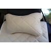 Автоподушка (бежевая, 1 шт.) (AVTOРИТЕТ, pillow-headrest-BEIGE)