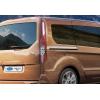 Молдинг под сдвижную дверь (нерж., 2 шт.) для Ford Connect 2014+ (Omsa Prime, 2627132)