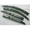 Дефлекторы окон (с молдингом из нерж. стали) для SsangYong Korando 2014+ (ASP, BSYKD1523-W/S)