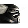 Накладки на решетку радиатора (нерж., 4 шт.) для Dacia Dokker 2012+ (Omsa Prime, 2022081)