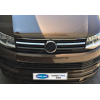 Накладки на решетку радиатора (нерж., 2 шт.) для Volkswagen Transporter (T6) 2015+ (Omsa Prime, 7550081)