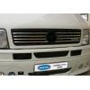 Накладки на решетку радиатора (нерж., 8 шт.) для Volkswagen Volt/LT 1998-2006 (Omsa Prime, 7523081)