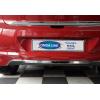 Накладка на задний бампер (нерж., 1 шт.) для Hyundai i20 (5D) HB 2014+ (Omsa Prime, 3241094)
