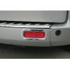 Окантовка рефлекторов заднего бампера (нерж., 2 шт.) для Ford Custom 2012+ (Omsa Prime, 2624104)