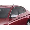 Окантовка на молдинги стекол (нерж., 8 шт.) для Fiat Tipo SD/HB 2015+ (Omsa Prime, 2542146)