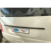 Накладка над номером на крышку багажника (карбон.) для Volkswagen Transporter (T6) 2015+ (Omsa Prime, 7550054C)