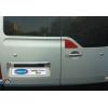 Заглушки крышки багажника (нерж., 4 шт.) для Nissan NV400 2010+ (Omsa Prime, 6123061)