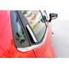 Накладки на задние дверные ручки (нерж., 4-шт.) для Renault Clio IV (5D) HB 2013+ (Omsa Prime, 6116043)