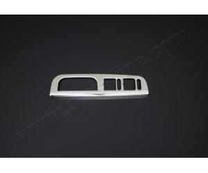 Накладка на внутреннюю дверную ручку (нерж.) для Skoda Octavia (A4) 2000-2004 (Omsa Prime, 6601046)