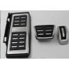 Накладки на педали (Original Style) для Audi/VW/Skoda (АКПП) (KAI, KVW010)