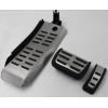 Накладки на педали (Original Style) для Audi A6 2008-2012 (АКПП) (KAI, KAU002)