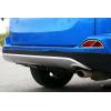 Хром накладки на задние противотуманные фары для Toyota RAV4 2016+ (ASP, JMTTYRV16RFLC)