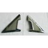 Хром накладки на основания зеркала для Nissan X-trail (T32) 2014+ (ASP, JMTNSXT32FMT)