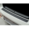 Накладка на задний бампер (карбон) для Nissan Qashqai II 2014+ (Nata-Niko, B-NI16+k)