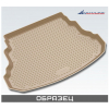Коврик в багажник (полиуретан, бежевый) для Infiniti QX56 2004+ (Novline, NLC.76.02.B13b)