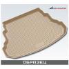 Коврик в багажник (полиуретан, бежевый) для Toyota Land Cruiser 200 (5 мест.) 2012+ (Novline, CARTYT00010b)