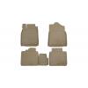 Коврики в салон (полиуретановые, бежевые) для Infiniti Q50 2014+ (Novline, 999RMV37BG)